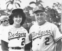 Lasorda and Jill2